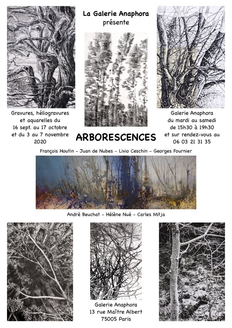 ARBORESCENCES, mostra collettiva